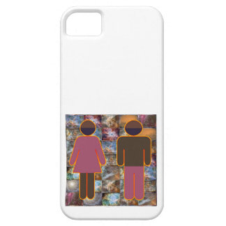 Coques iPhone 5 Case-Mate Beaux couples - indicateur hommes-femmes