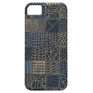 Coques iPhone 5 Case-Mate Cas géométrique tiré par la main de téléphone de