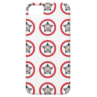Coques iPhone 5 Case-Mate Cas graphique d'IPhone 5/5S de singe superbe à