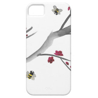 Coques iPhone 5 Case-Mate Fleurs et abeilles