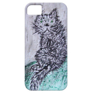 Coques iPhone 5 Case-Mate Gros chat noir