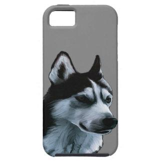 Coques iPhone 5 Case-Mate Illustration de Malamute d'Alaska