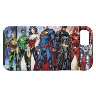 Coques iPhone 5 Case-Mate Ligne de ligue de justice 52 de la ligue de