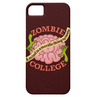 Coques iPhone 5 Case-Mate Logo drôle d'université de zombi