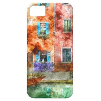Coques iPhone 5 Case-Mate Maisons colorées en île de Burano, Venise