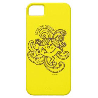 Coques iPhone 5 Case-Mate Petite Mlle Sunshine | remous noirs et de blanc