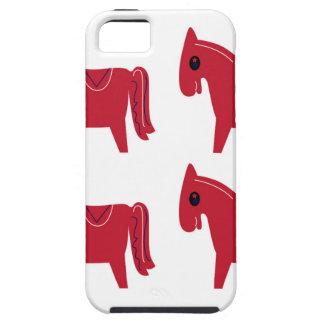 Coques iPhone 5 Case-Mate Petits animaux rouges de licornes