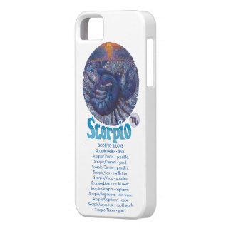 Coques iPhone 5 Case-Mate Scorpion - cas de téléphone de zodiaque