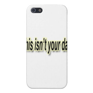 Coques iPhone 5 Ce n'est pas votre noir de jour décrit