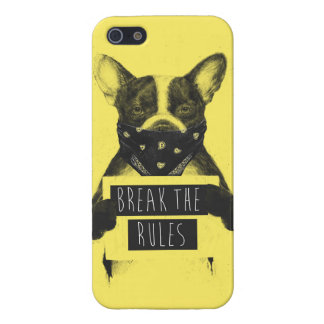 Coques iPhone 5 Chien rebelle