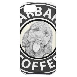 Coques iPhone 5 chien Starbucks
