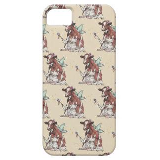 Coques iPhone 5 Clémentine la vache féerique