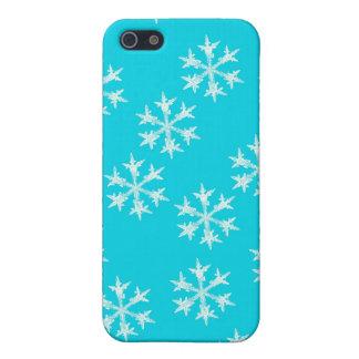 Coques iPhone 5 Conception de flocon de neige