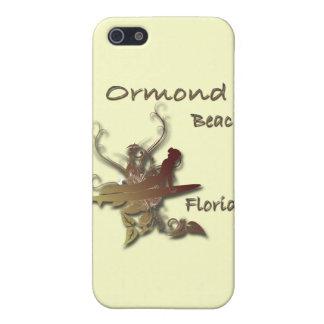 Coques iPhone 5 Conception de surfer de la Floride de plage