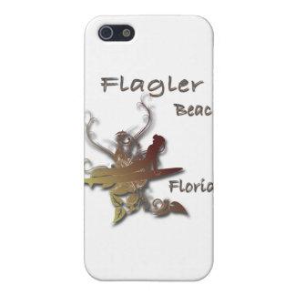 Coques iPhone 5 Conception de surfer de la Floride de plage de