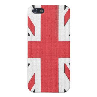 Coques iPhone 5 Drapeau britannique d'Union Jack