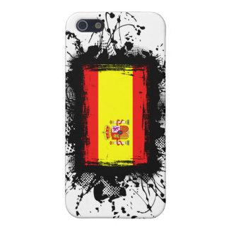 Coques iPhone 5 Drapeau de l'Espagne