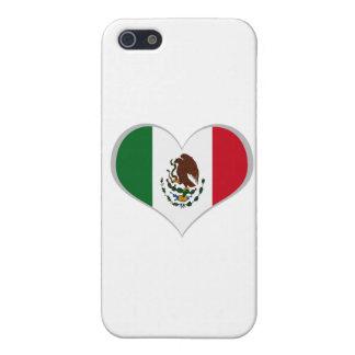 Coques iPhone 5 Drapeau du Mexique