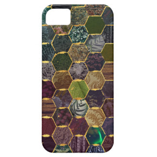 Coques iPhone 5 échelles de sirène de nid d'abeilles