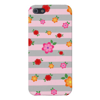 Coques iPhone 5 Flower power