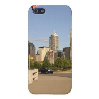 Coques iPhone 5 Horizon de ville d'Indianapolis