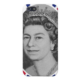 Coques iPhone 5 iPhone de portrait de jubilé de la Reine Elizabeth