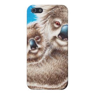 Coques iPhone 5 Koala et bébé mignons