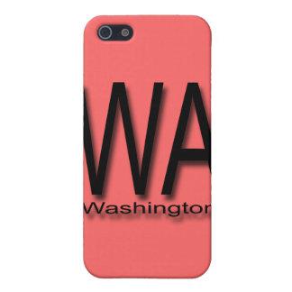 Coques iPhone 5 Noir de WA Washington