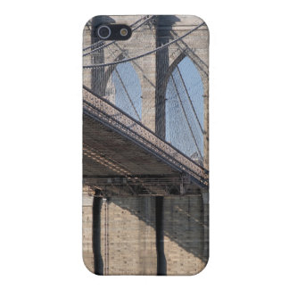 Coques iPhone 5 Pont de Brooklyn et horizon de Manhattan