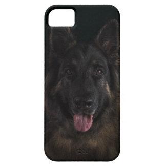 Coques iPhone 5 Portrait/Alsacien de chien de berger allemand
