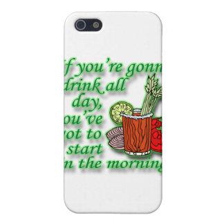 Coques iPhone 5 Si vous allez boire toute la journée le vert