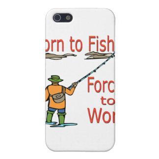 Coques iPhone 5 Soutenu pour pêcher obligatoire pour travailler le