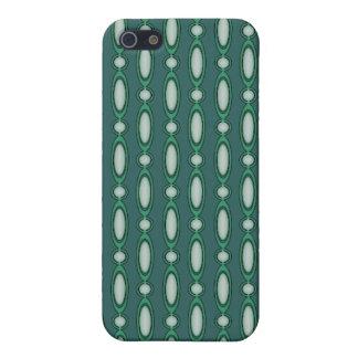 Coques iPhone 5 Vert et rideau perlé en pin
