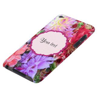 Coques iPod Case-Mate Dahlias colorés