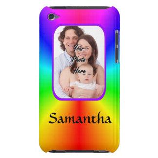 Coques iPod Touch Arrière - plan personnalisé coloré de photo