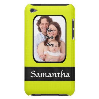 Coques iPod Touch Photo personnalisée par jaune lumineux