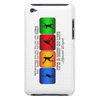 Coques iPod Touch Tennis frais c'est un mode de vie (le mâle)
