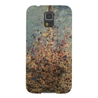 Coques Pour Galaxy S5 Éclaboussure d'art d'égoutture de la galaxie S5 de