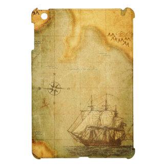 Coques Pour iPad Mini Carte et bateau antiques