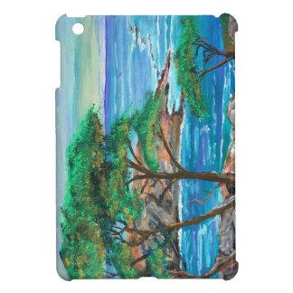 Coques Pour iPad Mini Cas d'iPad de peinture d'île mini