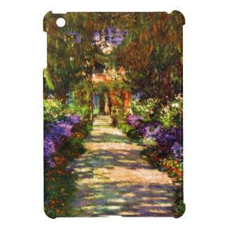 Coques Pour iPad Mini Chemin de jardin par Claude Monet