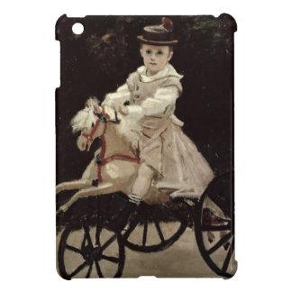 Coques Pour iPad Mini Claude Monet | Jean Monet sur son cheval de