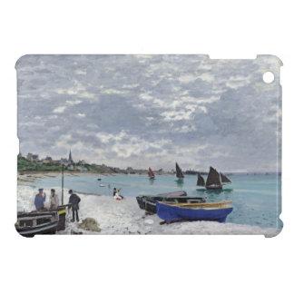 Coques Pour iPad Mini Claude Monet   la plage chez Sainte-Adresse