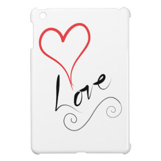 Coques Pour iPad Mini Coeur avec amour