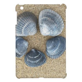 Coques Pour iPad Mini Coquilles bleues