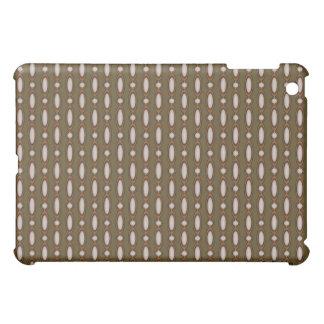 Coques Pour iPad Mini Cuivre et rideau perlé kaki