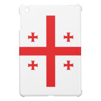 Coques Pour iPad Mini Drapeau abstrait de la Géorgie, drapeau géorgien