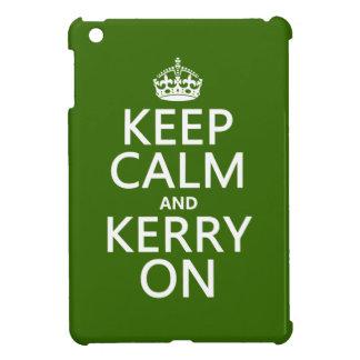 Coques Pour iPad Mini Gardez le calme et le Kerry sur (toute couleur)