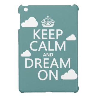 Coques Pour iPad Mini Gardez le calme et rêvez dessus (des nuages) -