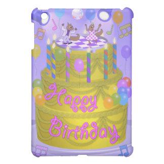 """Coques Pour iPad Mini Gâteau de """"joyeux anniversaire"""" (anglais)"""